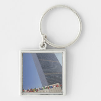 United Nations building Key Ring