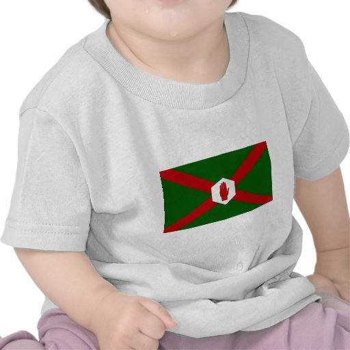 United Northern Ireland Bland flag Tee Shirts