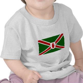 United Northern Ireland Shield flag T Shirt