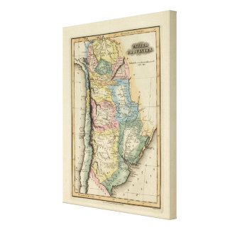 United Provinces 3 Canvas Print