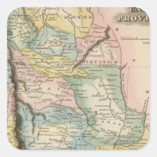 United Provinces Square Sticker