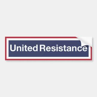 United Resistance Bumper Sticker