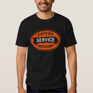 United Service Motors orange distressed sign Tee Shirt