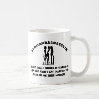 United Single Women - Singles Funny Shirt Coffee Mug