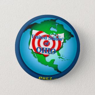 United State of Ohio 6 Cm Round Badge