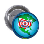 United State of Ohio Pinback Buttons