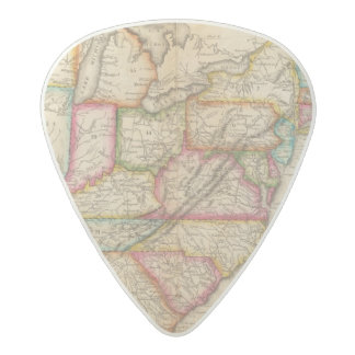 United States 11 Acetal Guitar Pick