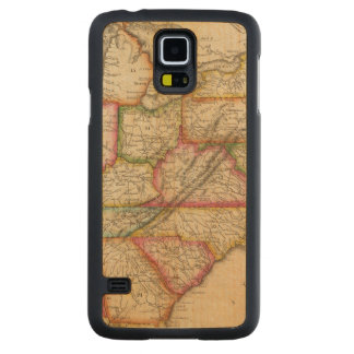 United States 11 Carved Maple Galaxy S5 Case