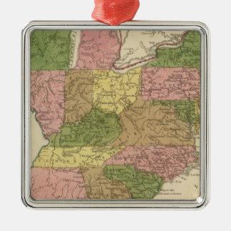 United States 11 Christmas Ornament