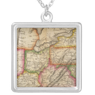 United States 11 Silver Plated Necklace