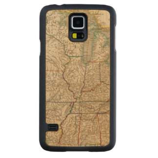 United States 12 Carved Maple Galaxy S5 Case