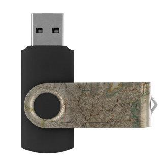 United States 12 Swivel USB 2.0 Flash Drive