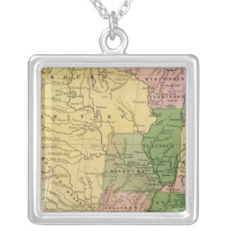 United States 13 Silver Plated Necklace
