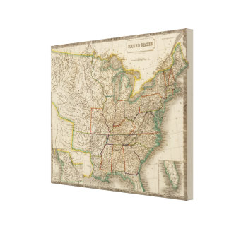 United States 14 Canvas Print