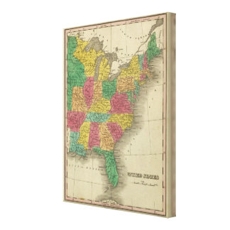 United States 15 Canvas Print