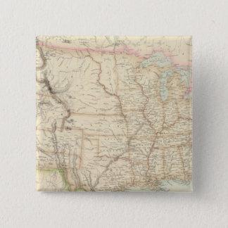 United States 15 Cm Square Badge