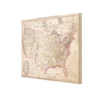 United States 16 Canvas Print