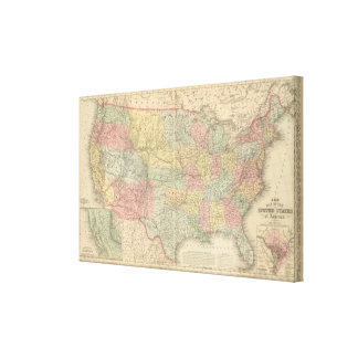 United States 17 Canvas Print