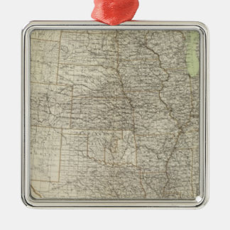 United States 17 Christmas Ornament