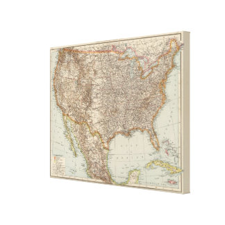 United States 18 Canvas Print