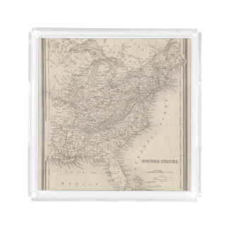 United States 19 Acrylic Tray