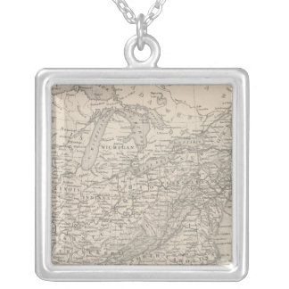 United States 19 Silver Plated Necklace