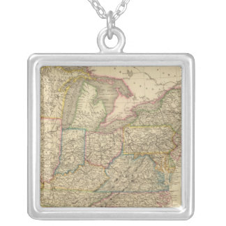 United States 21 Silver Plated Necklace