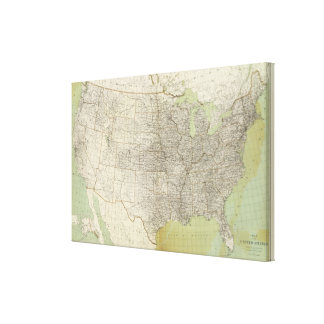 United States 23 Canvas Print