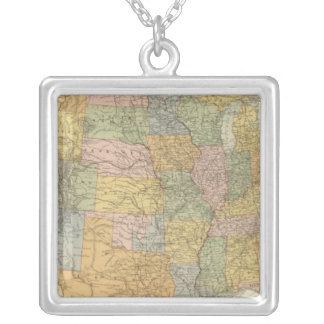 United States 23 Silver Plated Necklace