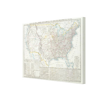 United States 24 Canvas Print