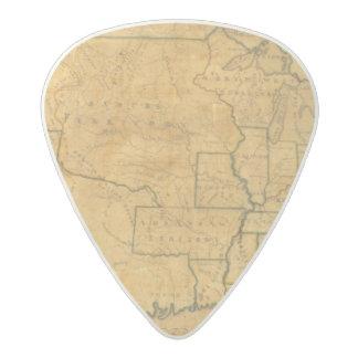 United States 25 2 Acetal Guitar Pick