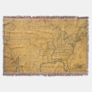 United States 25 2 Throw Blanket