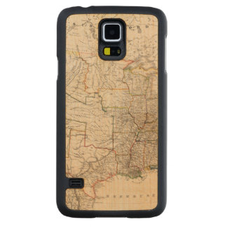 United States 25 Carved Maple Galaxy S5 Case