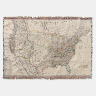 United States 25 Throw Blanket