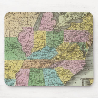 United States 26 Mouse Mat