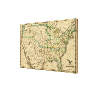 United States 27 Canvas Print