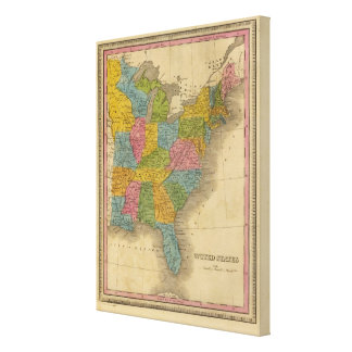 United States 30 Canvas Print