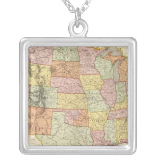 United States 31 Silver Plated Necklace