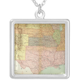 United States 33 Silver Plated Necklace