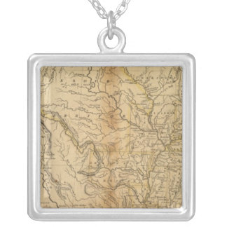United States 34 Silver Plated Necklace