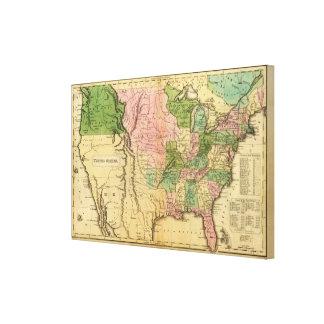 United States 36 Canvas Print
