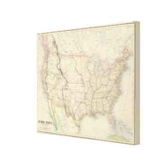 United States 38 Canvas Print