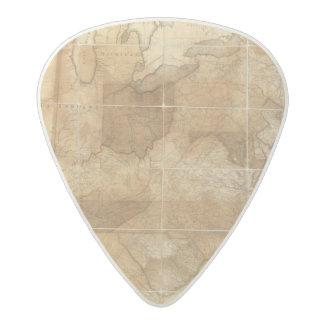 United States 39 Acetal Guitar Pick