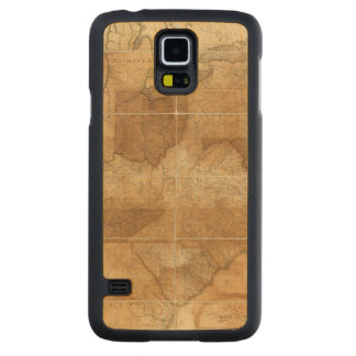 United States 39 Carved Maple Galaxy S5 Case