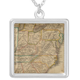United States 3 Silver Plated Necklace