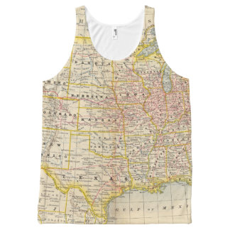 United States 4 All-Over Print Tank Top