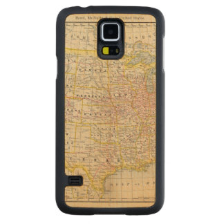 United States 4 Carved Maple Galaxy S5 Case