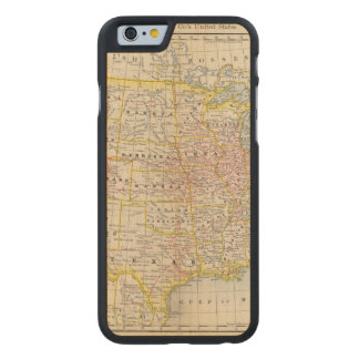 United States 4 Carved Maple iPhone 6 Case