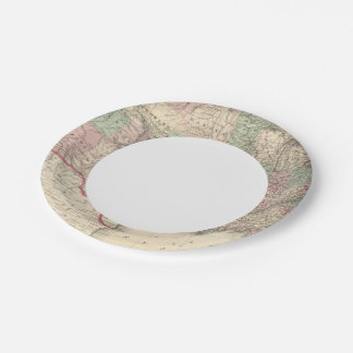 United States 4 Paper Plate