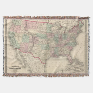 United States 4 Throw Blanket